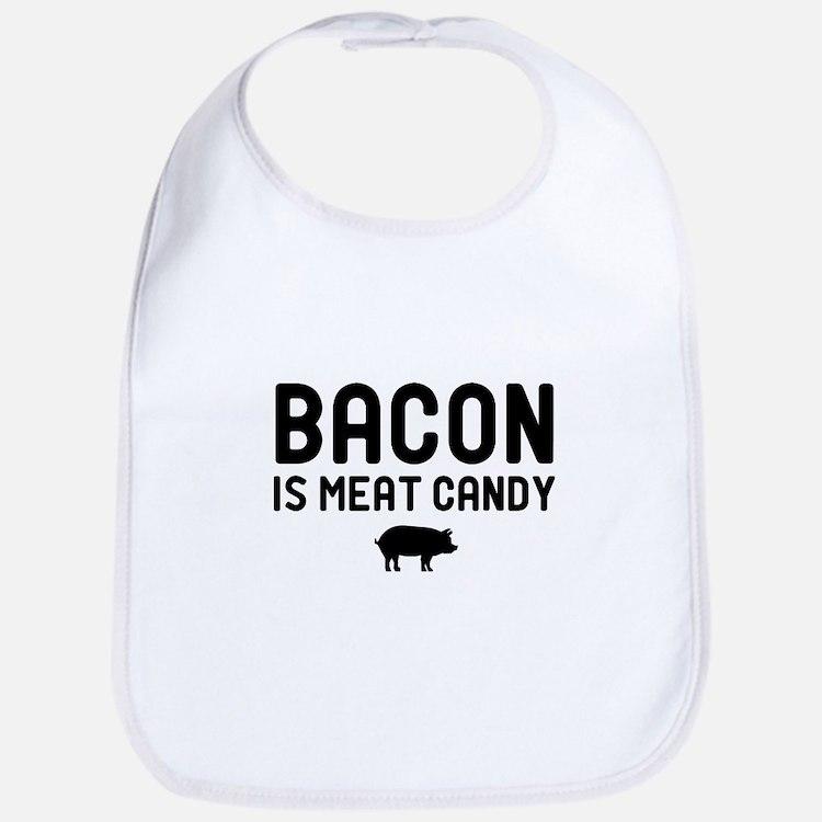 Bacon Meat Candy Bib