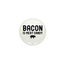 Bacon Meat Candy Mini Button (100 pack)