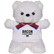 Bacon Meat Candy Teddy Bear