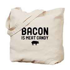 Bacon Meat Candy Tote Bag