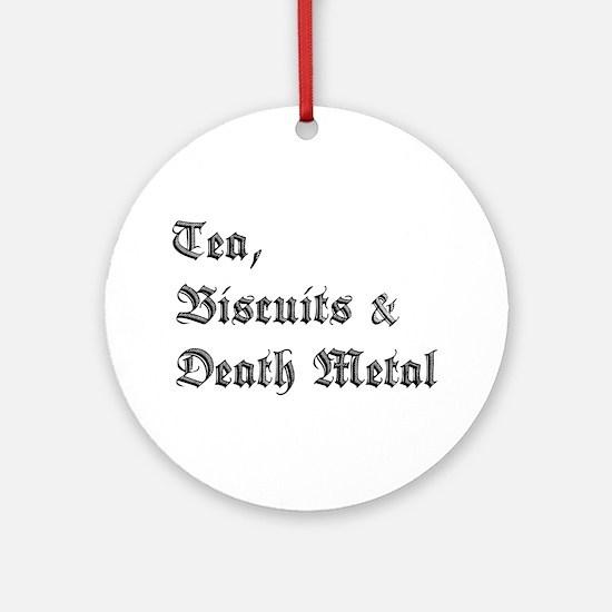 Death Metal Ornament (Round)