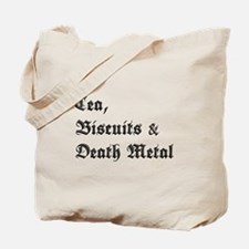 Death Metal Tote Bag