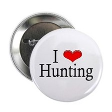 I Heart Hunting Button