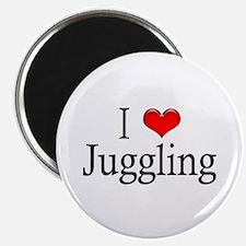 I Heart Juggling Magnet