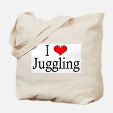 I Heart Juggling Tote Bag