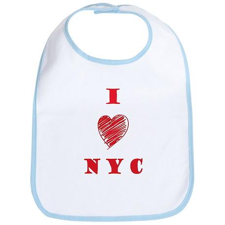 I love NYC Bib