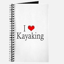 I Heart Kayaking Journal