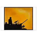 LAV III GUNNER Large Poster
