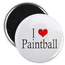 I Heart Paintball Magnet