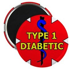 "Cute Diabetes 2.25"" Magnet (10 pack)"