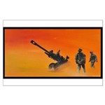 105 mm howitzer Large Poster