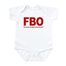 Fuck Barack Obama Infant Bodysuit
