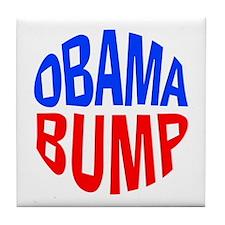 Obama Bump Tile Coaster