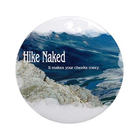 Hike Naked Ornament (Round)