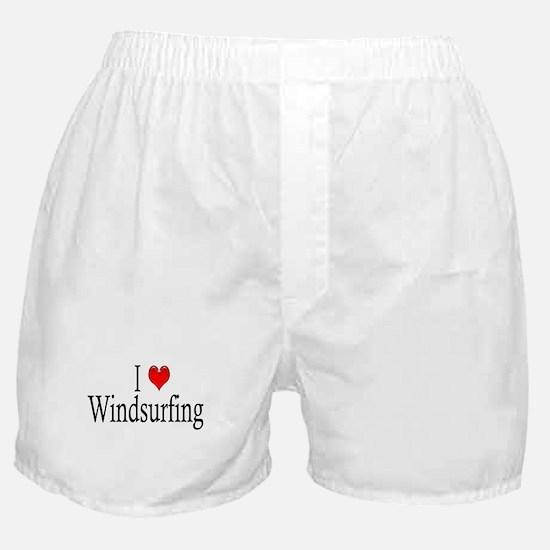 I Heart Windsurfing Boxer Shorts