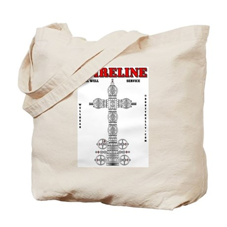 Wireline Oil Well Service Tote Bag