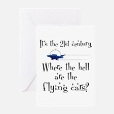 No Flying Cars? Greeting Card