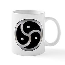 BDSM Femdom Triskelion symbol Mug