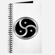 BDSM Femdom Triskelion symbol Journal