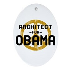 Architect for Obama Oval Ornament