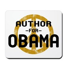 Author for Obama Mousepad