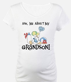 Stork New Grandson Shirt