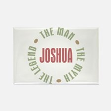 Joshua Man Myth Legend Rectangle Magnet