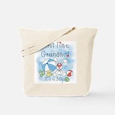 Grandma Baby Boy Tote Bag