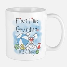 Grandma Baby Boy Small Mugs