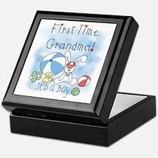 Grandma Baby Boy Keepsake Box