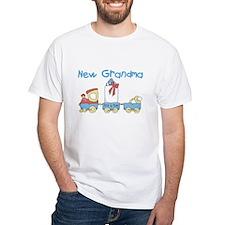 Train New Grandma Shirt