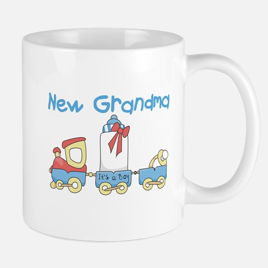 Train New Grandma Mug