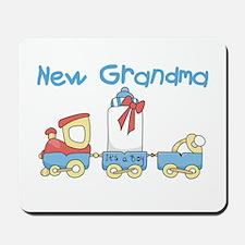 Train New Grandma Mousepad