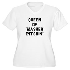 2-queenofwashers Plus Size T-Shirt
