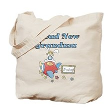Plane Grandma of Boy Tote Bag