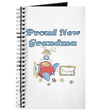 Plane Grandma of Boy Journal