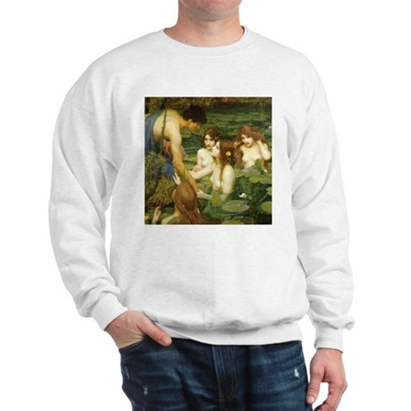 Waterhouse's Hylas and the Nymphs Sweatshirt