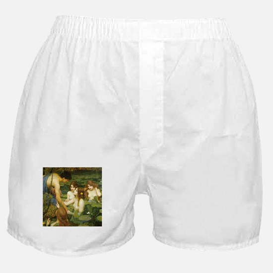Waterhouse's Hylas and the Nymphs Boxer Shorts