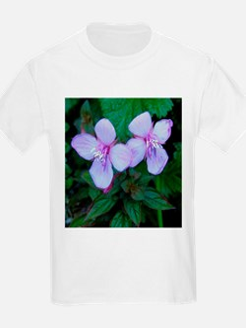 Blue Flowers Kids T-Shirt