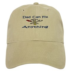 Dad Can Fix Anything Baseball Cap