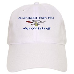 Granddad Can Fix Anything Baseball Cap