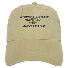 Grandpa Can Fix Anything Baseball Cap