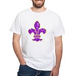 FLEUR DE LI White T-Shirt