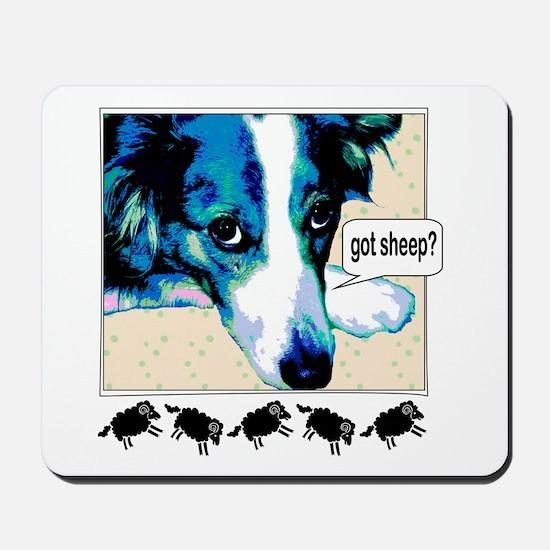 Got Sheep BC Mousepad