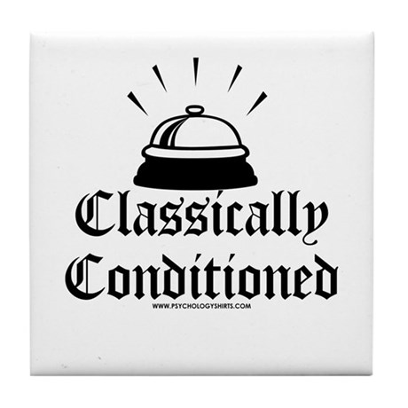 Classically Conditioned Tile Coaster