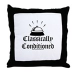 Classically Conditioned Throw Pillow