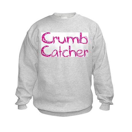 Crumb Catcher Girl Kids Sweatshirt