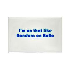 Bandura on Bobo Rectangle Magnet (100 pack)