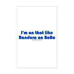 Bandura on Bobo Posters