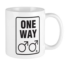 One Way (Male) Mug